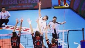 Мартин Атанасов и Токат завършиха със загуба редовния сезон в Турция