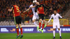 Лукаку спаси Белгия срещу Гърция