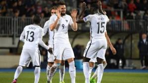 Франция си взе своето в Люксембург (видео)