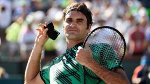 Федерер стартира с победа в Маями, чака го мач с Дел Потро