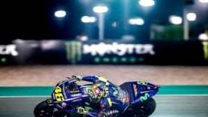 Мотивираният Роси възлага надежди на загрявката в MotoGP