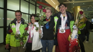 Министър Дашева посрещна атлетите от Спешъл Олимпикс България