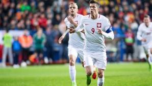 Полша гледа смело към Мондиал 2018 след ключова победа в Подгорица
