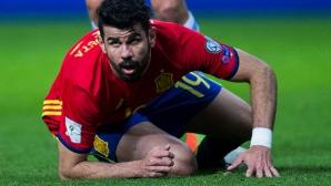 Диего Коща под въпрос за мача с Франция