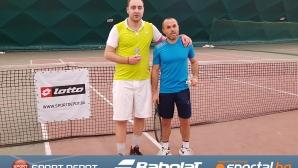 """Неочаквани шампиони триумфираха в Четвъртия вечерен тенис турнир """"Лото"""""""