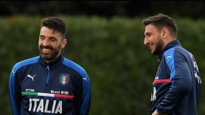 Донарума отново влиза в историята на Италия