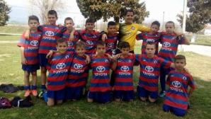 Детска школа от Сандански спечели турнир в Гърция