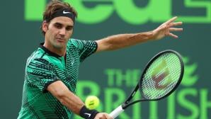 Федерер: Хареса ми, че нещата зависеха основно от мен