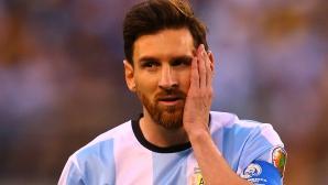 Лео с най-тежката санкция в кариерата си, Аржентина страда сериозно без него