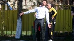 Вальо Илиев: Играхме прекрасно, развитието на отбора е най-важно (видео+галерия)