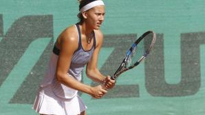 Терзийска се класира за 1/2-финал на двойки на турнира по тенис в Кроаси-Бьобор