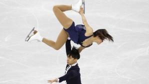 Китайци поведоха след кратката програма при спортните двойки на световното