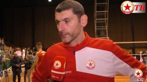 Александър Попов: Надявам се да победим във втория мач (видео)