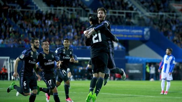 Резервите на Реал Мадрид изпълниха мисията на