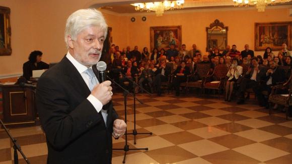 """Вальо Михов: Няма да съм жив, докато ЦСКА 1948 влезе в """"А"""" група"""
