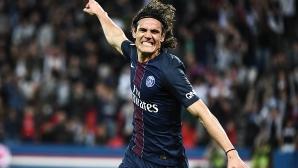 ПСЖ продължава гонитбата с Монако след 4 гола за едно полувреме (видео)