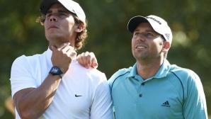 """Надал поздрави големия си приятел и нов шампион в """"Мастърс""""-а по голф"""
