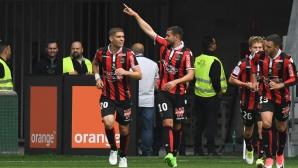 """Голям успех за Ница - """"орлетата"""" са в Шампионската лига (видео)"""