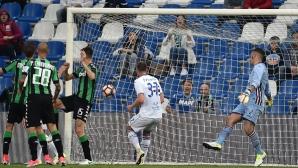 Куриозен гол не помогна на Самп срещу Сасуоло