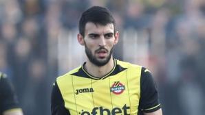 Крум Стоянов отпадна от групата на Ботев (Пд)