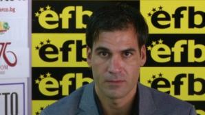 Живко Желев: Опитахме се да играем отворен футбол