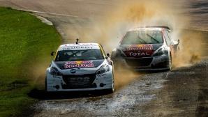 Тестови сесии подготвиха Peugeot за втория кръг от Световния рали крос в Португалия