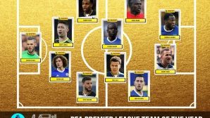 Челси и Тотнъм с най-много играчи в Идеалния отбор на сезона в Премиър лийг