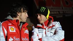 Роси е заинтригуван от участието на Алонсо в Инди 500