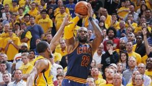 ЛеБрон Джеймс вече е №3 в листата на реализаторите в плейофите на НБА