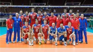 Русия без големите си звезди Мусерский, Тетюхин, Михайлов и Вербов срещу България в Световната лига