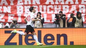 Къркич стана първият испански футболист с голове в първенствата на Испания, Англия, Италия и Германия