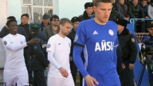 Преслав Йорданов не влезе в игра при загуба на Ордабаси