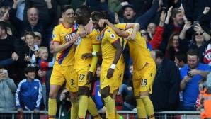 Бентеке нанесе тежък удар по амбициите на Ливърпул (видео)