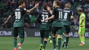 Александров с цял мач при загуба на Арсенал (Тула)