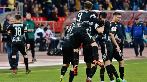 Арсенал (Тула) с важна победа, цял мач за Александров (видео)