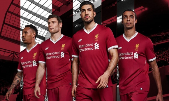 Вижте новите екипи на Ливърпул (снимки)