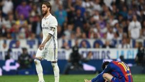 Мачът беше кошмар за Серхио Рамос още преди червения картон - вижте защо