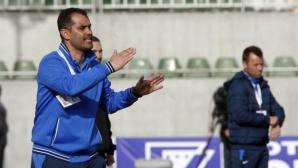 Напрежение между треньорите на Левски и Дунав