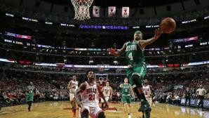 Бостън е в играта след втора победа в Чикаго (видео)
