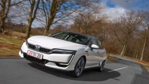 Honda Clarity Fuel Cell – най-съвременният автомобил с горивни клетки е в Европа