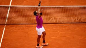 """Тенис турнирите през седмицата: Надал към нова """"десета"""" и завръщането на Шарапова"""