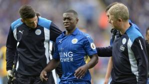 Полузащитник ще пропусне мачовете на Лестър Сити до края на сезона