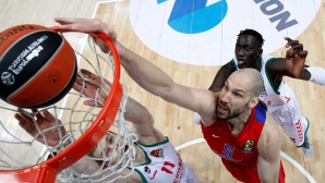 ЦСКА (Москва) и Фенербахче се класираха за финалната четворка на Евролигата
