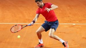 Григор Димитров пак ще играе тенис благотворително
