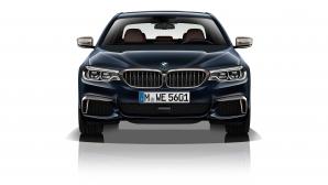 BMW представиха най-мощната дизелова Серия-5