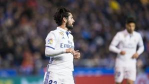 Играчите на Реал Мадрид се скъсали от тичане снощи (статистика)