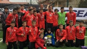 Юношите на ЦСКА-София на финал след разгром над Левски