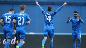 Динамо (Загреб) разгроми Цибалия, Петев извади две от звездите от състава (видео)