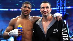 Олимпийска шампионка донесе късмет на Джошуа