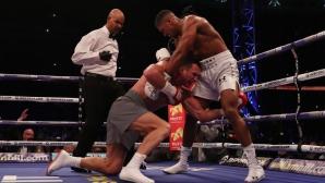 Тони Белю: Джошуа замени Мейуедър като Краля на бокса